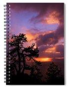 Lake Tahoe Sundown 2 Spiral Notebook