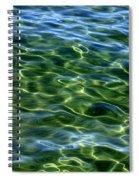 Lake Tahoe Swirls Spiral Notebook