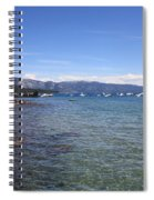 Lake Tahoe Waterscape Spiral Notebook