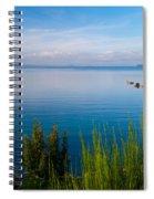 Lake Taupo Spiral Notebook