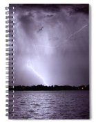 Lake Thunderstorm Spiral Notebook
