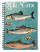 Lake Time-jp2785 Spiral Notebook
