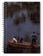 Lake Titicaca Reed Boats Spiral Notebook