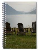 Lake View Spiral Notebook