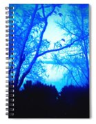 Lake View Cezanne Style Spiral Notebook