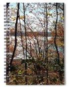 Lake Wallenpaupack Through The Trees Spiral Notebook