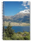 Lake Wanaka New Zealand Iv Spiral Notebook
