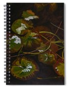 Lake Washington Lily Pad 16 Spiral Notebook