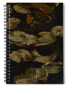 Lake Washington Lily Pad 9 Spiral Notebook