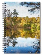 Lake Waterford Fall - Watercolor Fx Spiral Notebook