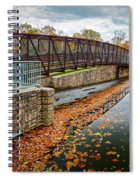 Lake Waterford Fall Waterscape Spiral Notebook