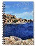 Lake Watson At The Dells 1 - Prescott, Arizona Spiral Notebook
