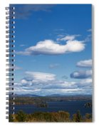 Lake Winnipesaukee New Hampshire In Autumn Spiral Notebook
