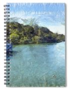 Lake With Islands Spiral Notebook