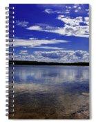 Lake Wollumboola Memories  Spiral Notebook