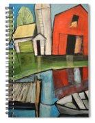 Lakeside Farm Spiral Notebook