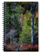Lakeside In The Autumn Spiral Notebook