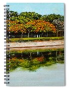 Lakeside Joggers Path Spiral Notebook