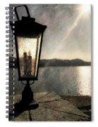 Lakeside Lantern Spiral Notebook