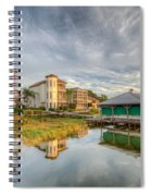 Lakeside Reflections Spiral Notebook