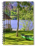Lakeside Relaxation Spiral Notebook