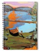 Lakeside Retreat Spiral Notebook