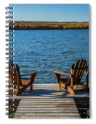 Lakeside Seating For Two Spiral Notebook