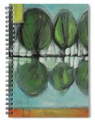 Lakeside Trees Spiral Notebook