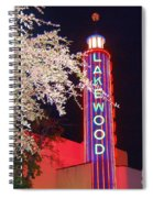 Lakewood Theater Spiral Notebook