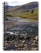 Lamar Valley 3 Spiral Notebook