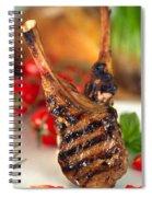 Lamb Chop Three Spiral Notebook