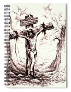 Lamb Of God Spiral Notebook