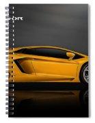 Lamborghini Aventador Spiral Notebook