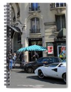Lamborghini Countach Spiral Notebook