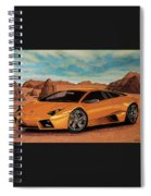 Lamborghini Reventon 2007 Painting Spiral Notebook