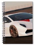 Lamborghini Sesto Elemento - 04 Spiral Notebook