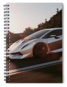 Lamborghini Sesto Elemento - 12 Spiral Notebook