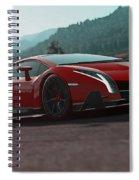 Lamborghini Veneno Spiral Notebook