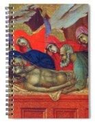 Lamentation Of Christ Fragment 1311 Spiral Notebook