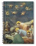 Lamentation Of Christ Spiral Notebook