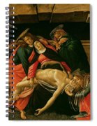 Lamentation Of Christ Spiral Notebook
