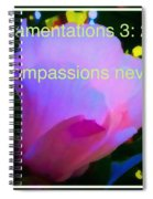 Lamentations His Compassions Never Fail Spiral Notebook