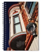 Lamp And Building Details  Spiral Notebook