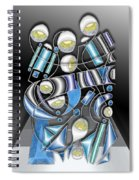 Lamp Arrangement 3 Spiral Notebook