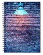 Lamp Light Spiral Notebook