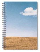 Lamp-lite Motel Spiral Notebook