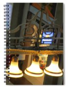 Lamps At The Big C Spiral Notebook