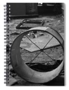 Lampshade After The Party Spiral Notebook