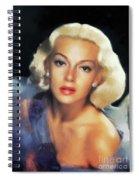 Lana Turner, Hollywood Legend Spiral Notebook