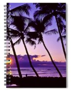 Lanai Sunset Spiral Notebook